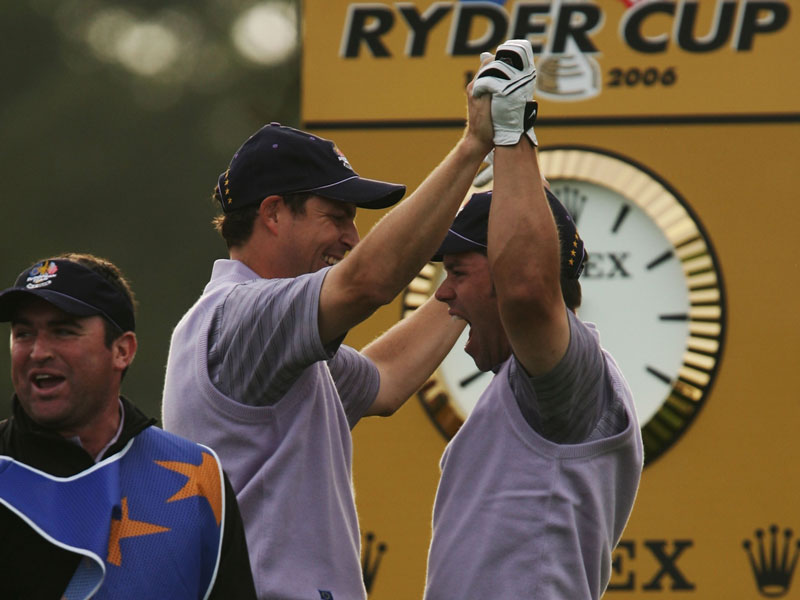 Ryder Cup Best Shots Countdown: No. 15 Paul Casey 2006