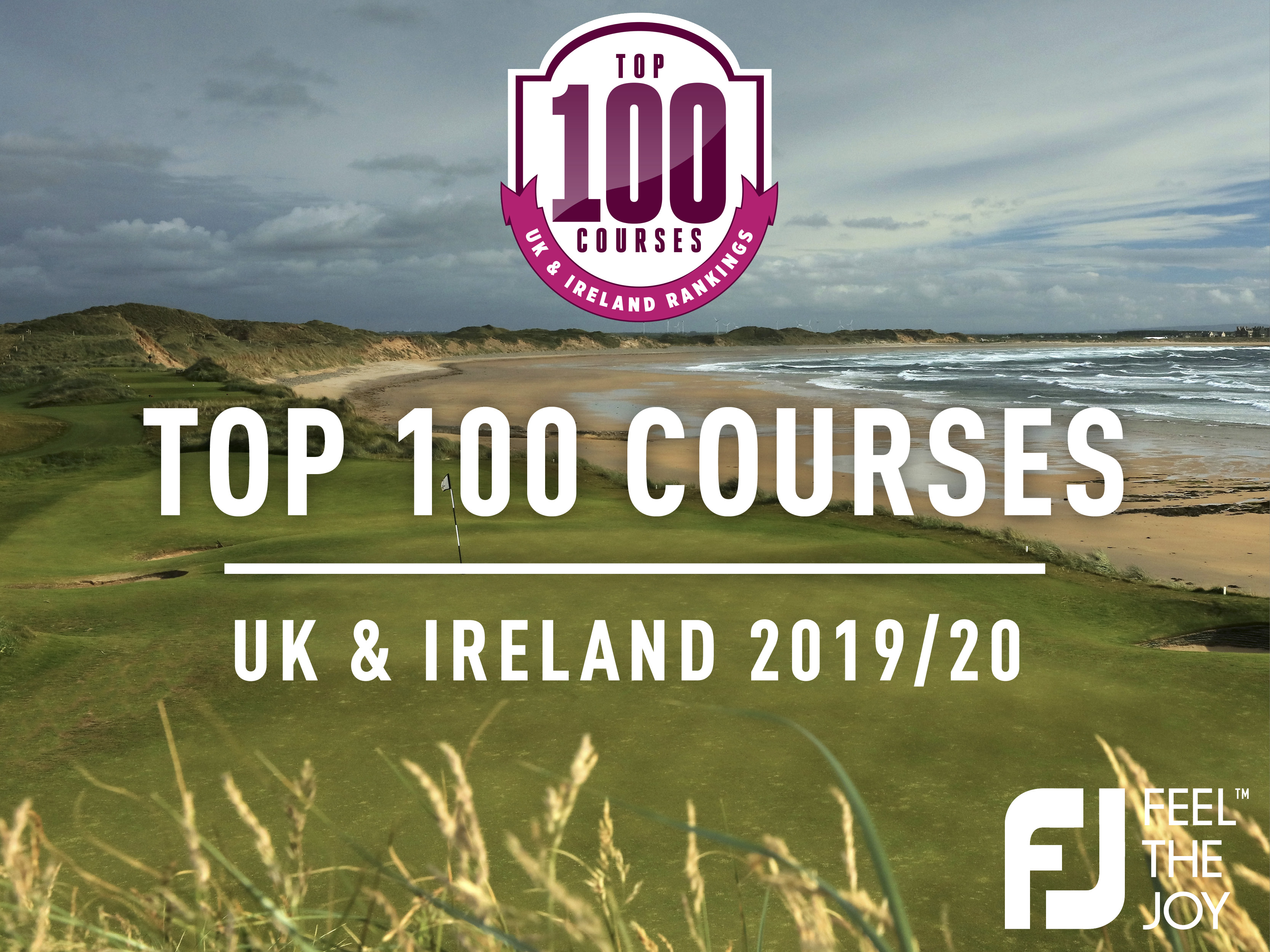 top 100 golf courses UK and Ireland