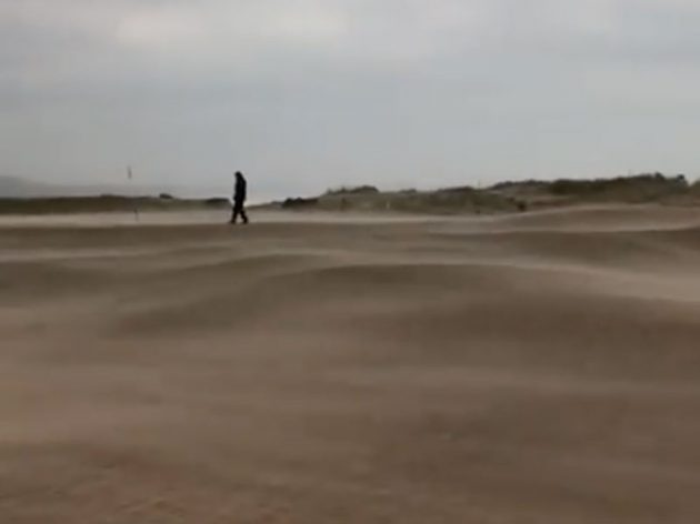 Montrose Golf Club Gets Covered In Sand