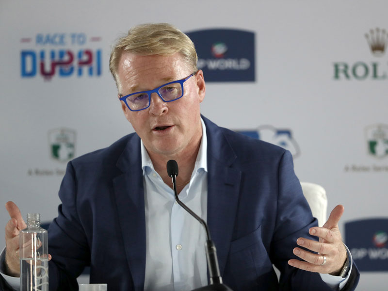 Keith Pelley Says Haotong Li Penalty Grossly Unfair