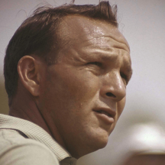 Palmer was the face of golf in 1962. (AP Photo)