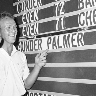Arnold Palmer left an unequaled mark on the game of golf. (File)