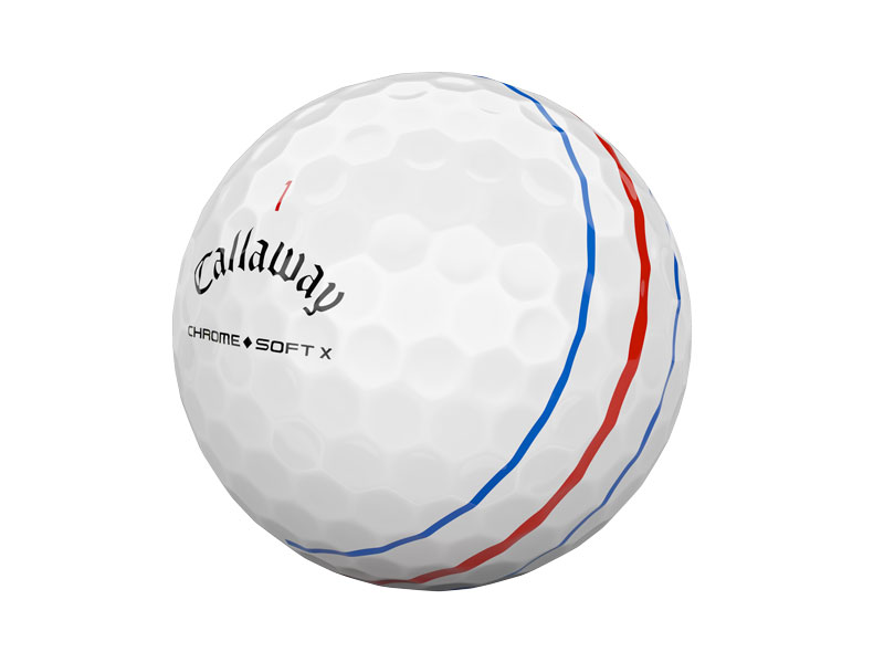 Callaway Chrome Soft X Triple Track Ball Unveiled