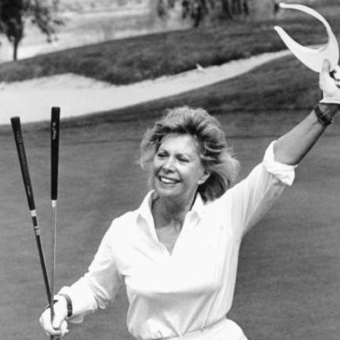 1994: Dinah Shore was a singer, noted TV celebrity and long-time friend of the LPGA. She founded the California tournament that eventually became the ANA Inspiration, one of the LPGA Tour's five majors.