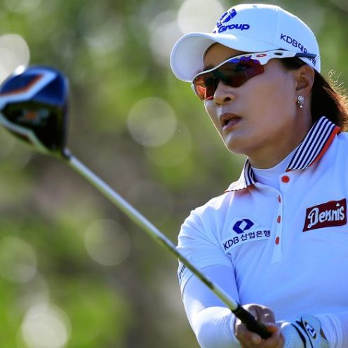 2007: Se-Ri Pak was the only Korean player on the LPGA Tour in 1998. When she retired in 2016, there were more than 40 Korean LPGA Tour regulars. Pak's spectacular win in the 1998 U.S. Women's Open inspired many Korean women to take up golf. (Getty Images)