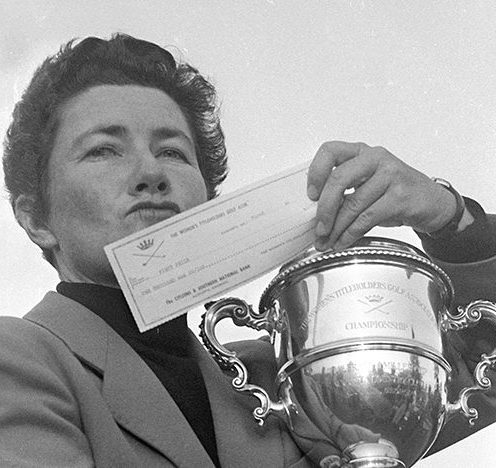 1951: Louise Suggs was one of the founders of the LPGA Tour modern women's golf. (Getty Images)
