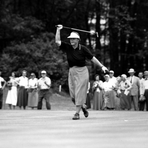 1951: Patty Berg won 60 pro events and 15 LPGA major championships. Getty Images)