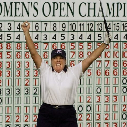 2017: Meg Mallon celebrates here winning the 2004 U.S. Women's Open. She won four majors and 18 LPGA Tour victories in a career from 1987-2010. (Associated Press)