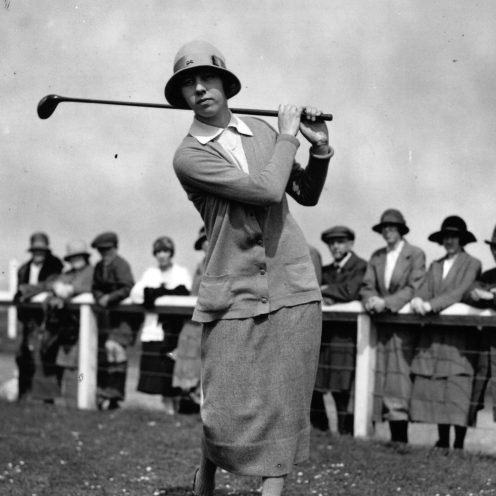 1975: Joyce Wethered was considered the best British women's golfer from the period between the First and Second World Wars. (File Photo)