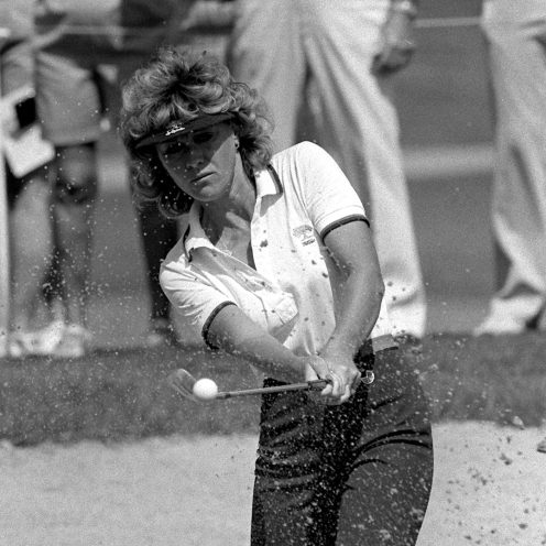 2019: Jan Stephenson came from Australia to become the LPGA Rookie of the Year in 1974. She continues to impact the game in 2019. She is a three-time Major Champion and a founder Women's Senior Golf Tour. (Associated Press)