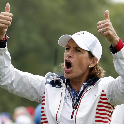 2000: Juli Inkster has 31 wins and more than $13 million in career earnings on the LPGA Tour. She has more wins in Solheim Cup matches than any other American, and is the only LPGA Tour player to win two majors in a decade for three consecutive decades. (Charlie Neibergall/Associated Press)