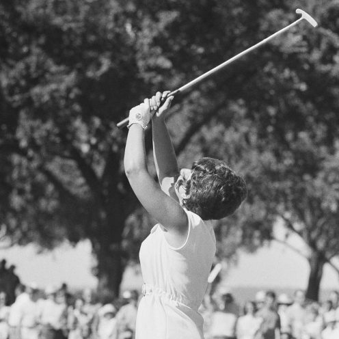 2001: Donna Caponi got her first LPGA Tour win in the U.S. Open in 1969 and repeated as Open champion in 1970. Her 24-year career ended in 1988 and included 24 titles and four major championships. (Getty Images)
