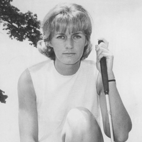 1977: Carol Mann won 42 events on the LPGA Tour, including four majors. She finished in the top ten on the money list every year from 1963 and 1975.