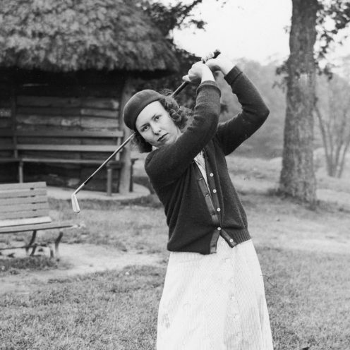 1951: Betty Jameson was a pioneer of women's golf. (Getty Images)