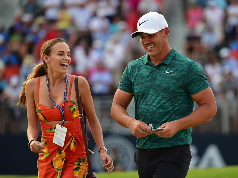Brooks Koepka's Girlfriend