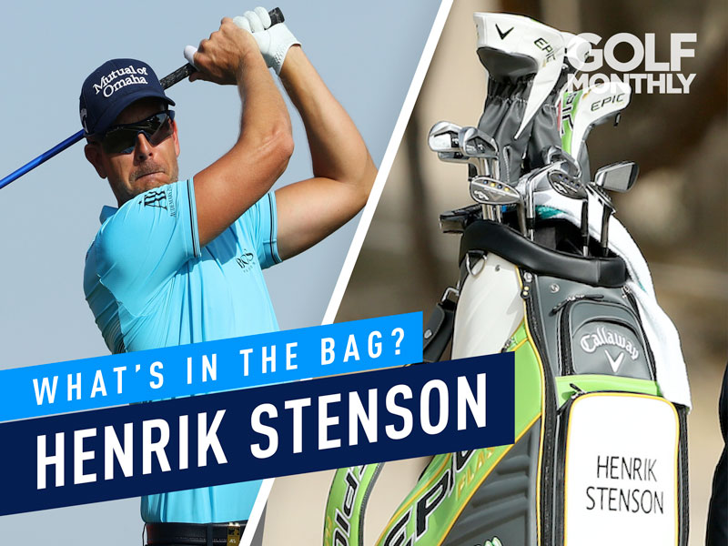 Henrik Stenson What's In The Bag