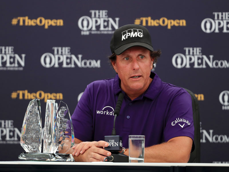 Phil Mickelson Has Low Expectations Ahead Of Open Championship