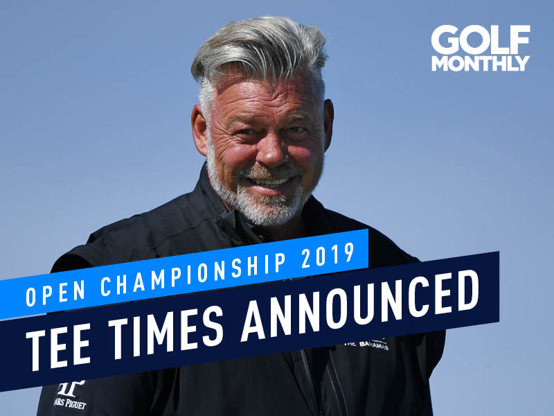 Open Championship Tee Times