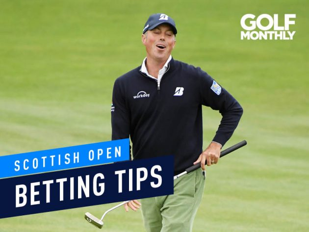 Scottish Open Golf Betting Tips 2019